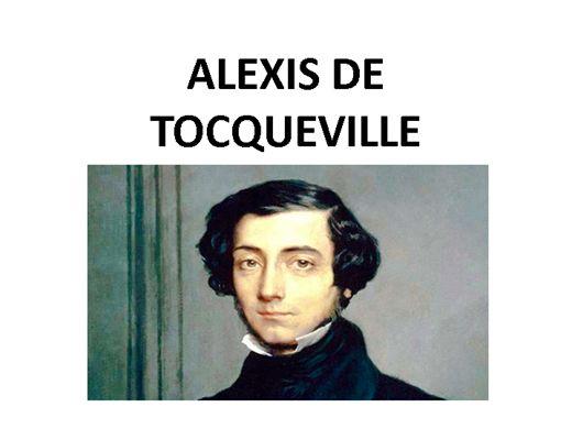 Curso Online de ALEXIS DE TOCQUEVILLE