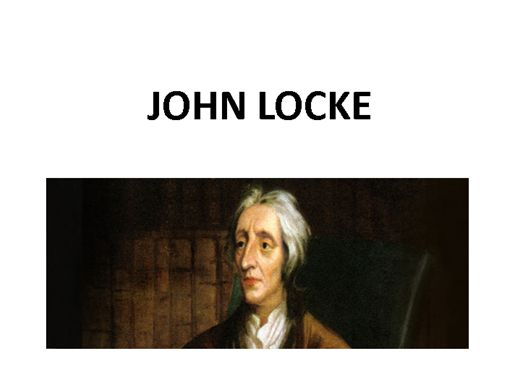 Curso Online de JOHN LOCKE