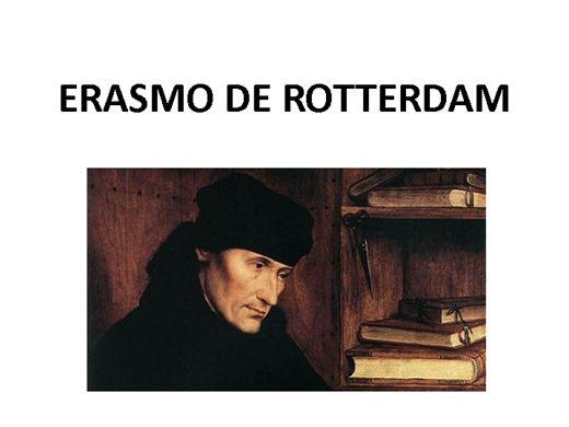 Curso Online de ERASMO DE ROTTERDAM