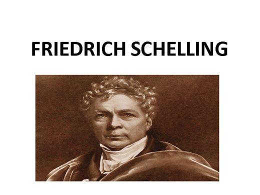Curso Online de FRIEDRICH SCHELLING
