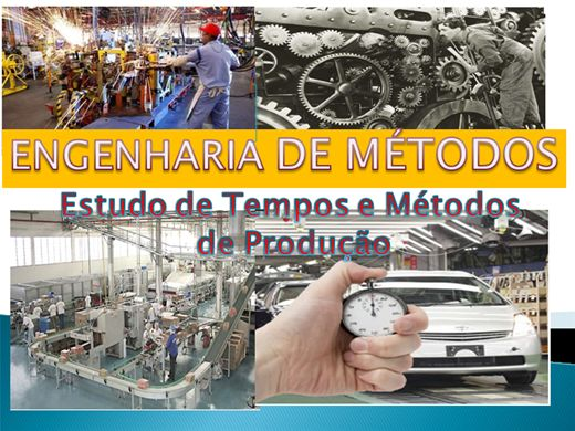Curso Online de Estudo de Tempos e Métodos de Produção