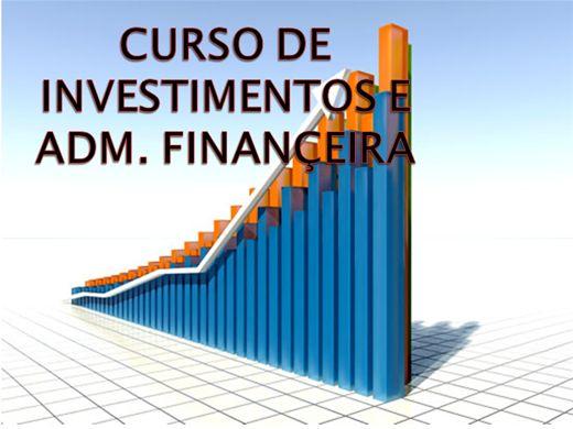 Curso Online de CURSO DE INVESTIMENTOS E ADM. FINANCEIRA