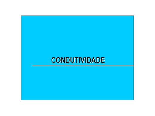 Curso Online de Medição de condutividade ionica