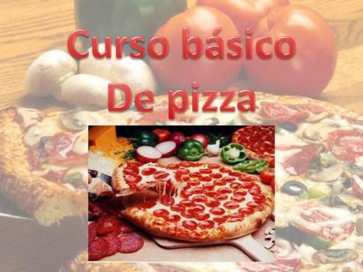 Curso Online de Curso básico de pizzas