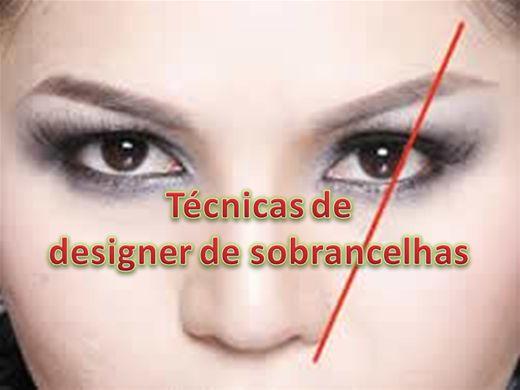 Curso design de sobrancelha