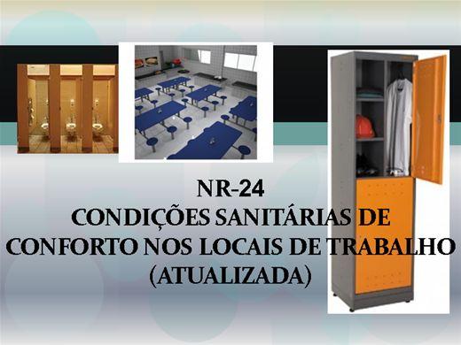 Curso Online de NR 24 condições sanitárias de conforto nos locais de trabalho (atualizada)