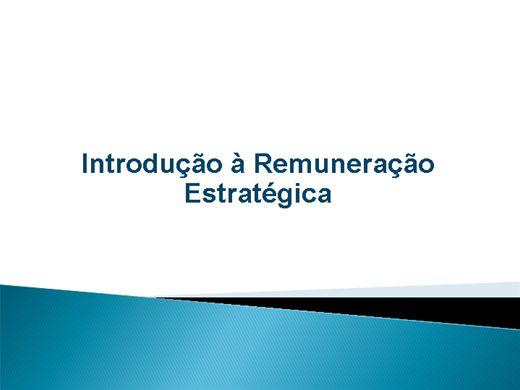 Curso Online de Introdução a Remuneração Estratégica