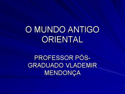 Curso Online de HISTÓRIA ANTIGA E ORIENTAL