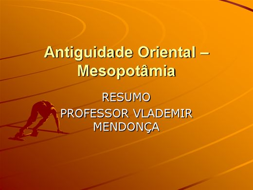 Curso Online de ANTIGUIDADE ORIENTAL-MESOPOTÂMIA