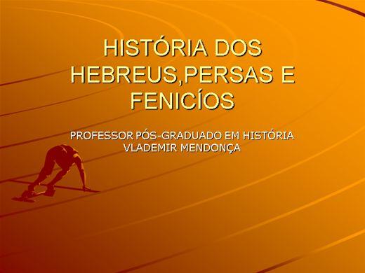 Curso Online de HEBREUS,PERSAS E FENICÍOS