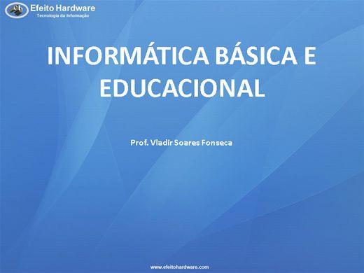 Curso Online de Informática Básica e Educacional