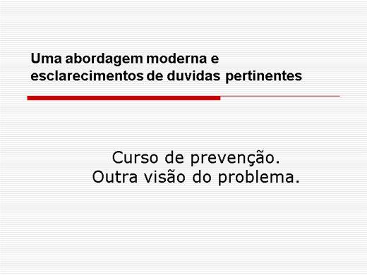 Curso Online de Curso de Prevenção - Dependência Química