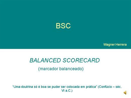 Curso Online de BSC - Implementação de projetos