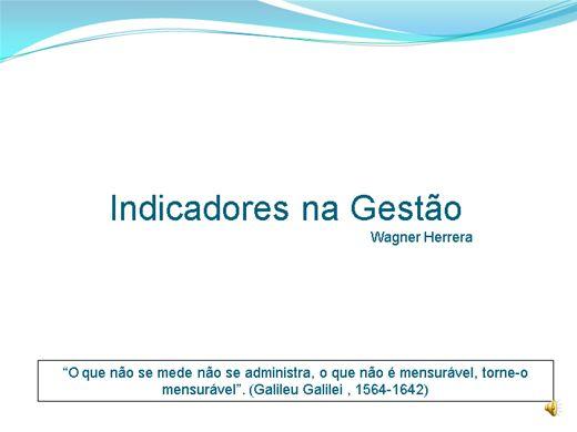 Curso Online de Indicadores na Gestão.
