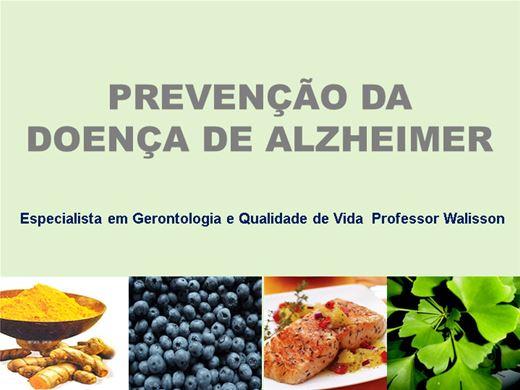 Curso Online de Prevenção da Doença de Alzheimer