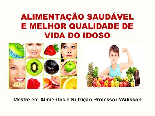 Curso Online de Alimentação Saudável e Melhor Qualidade de Vida do Idoso