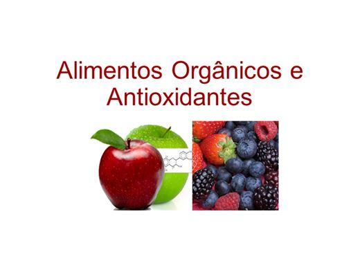 Curso Online de Alimentos Orgânicos e Antioxidantes