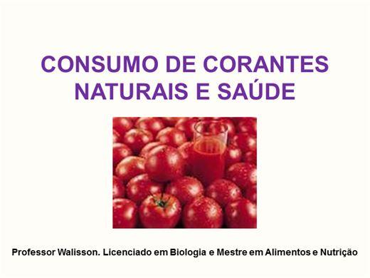 Curso Online de Consumo de Corantes Naturais e Melhor Saúde