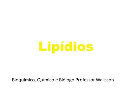 Curso Online de Lipídios