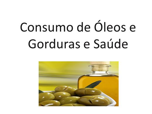 Curso Online de Consumo de Certos Lipídios e Saúde