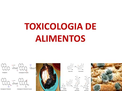 Curso Online de Toxicologia de Alimentos