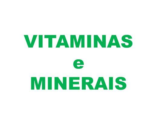 Curso Online de Vitaminas e Minerais
