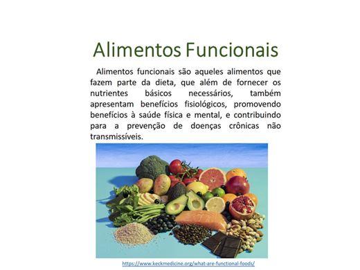 Curso Online de Alimentos Funcionais