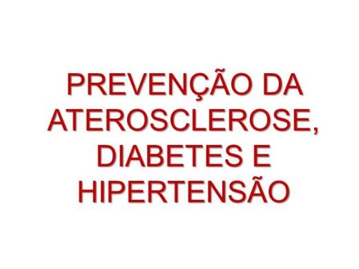 Curso Online de Prevenção da Aterosclerose, Diabetes e Hipertensão
