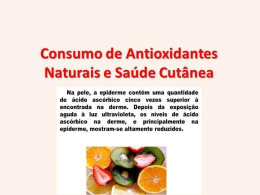 Curso Online de Consumo de Antioxidantes Naturais e Saúde Cutânea