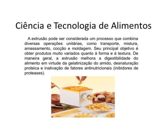 Curso Online de Ciência e Tecnologia de Alimentos