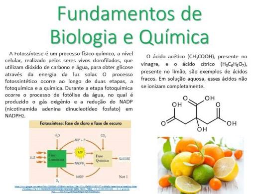 Curso Online de Fundamentos de Biologia e Química