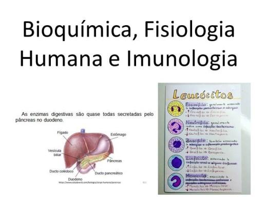 Curso Online de Bioquímica, Fisiologia Humana e Imunologia