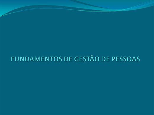 Curso Online de Fundamentos de Gestão de pessoas - Concursos
