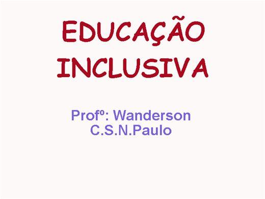 Curso Online de Educação Inclusiva. Alfabetização e/ou letramento