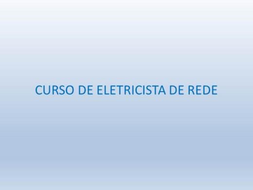 Curso Online de Eletricista - Instituto Rutherford
