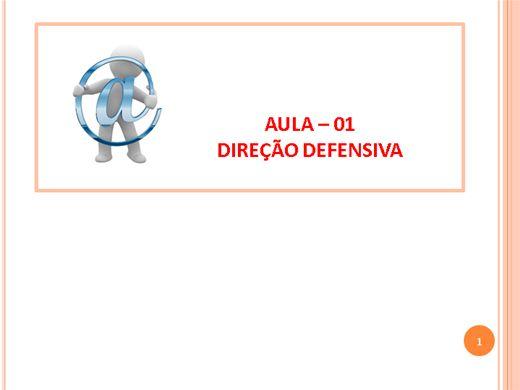 Curso Online de Como Passar na Prova do Detran-RJ   Módulo 2 Direção Defensiva