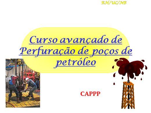 Curso Online de  Perfuração de Poços de Petroleo Avançado