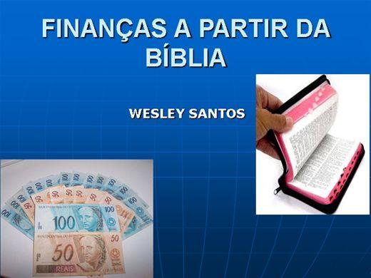 Curso Online de Finanças a partir da Bíblia