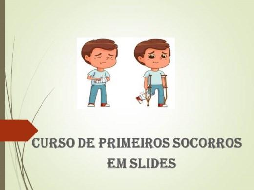 Curso Online de PRIMEIROS SOCORROS - AUTO ESCOLA