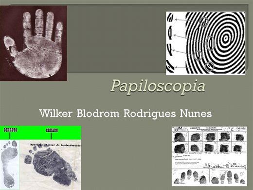 Curso Online de Curso  Perito em Papiloscopia