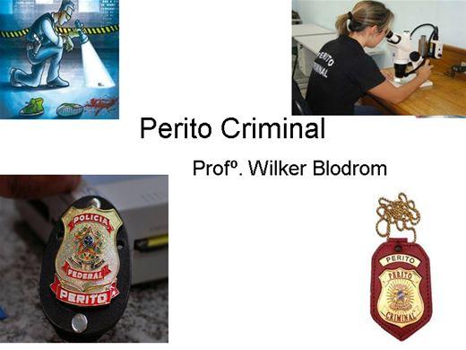 Curso Online de Perito Criminal