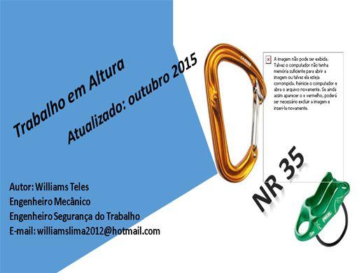 Curso Online de NR 35 - Trabalho em Altura