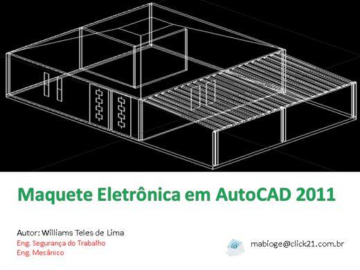 Curso Online de Maquete Eletrônica