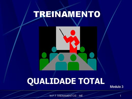 Curso Online de QUALIDADE TOTAL MODULO 3