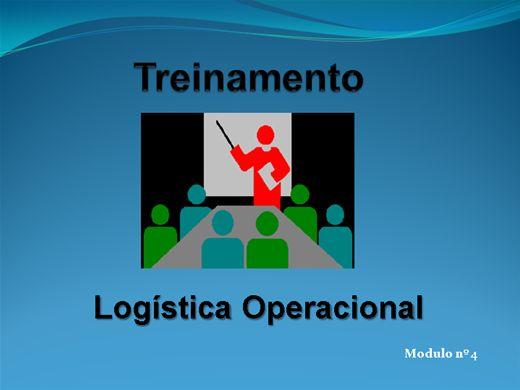 Curso Online de LOGÍSTICA OPERACIONAL MODULO Nº  4