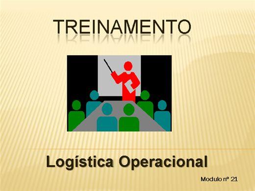 Curso Online de LOGÍSTICA OPERACIONAL MODULO Nº  21
