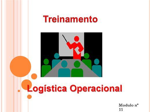 Curso Online de LOGÍSTICA OPERACIONAL MODULO Nº  11
