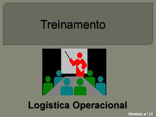 Curso Online de LOGÍSTICA OPERACIONAL MODULO Nº  12