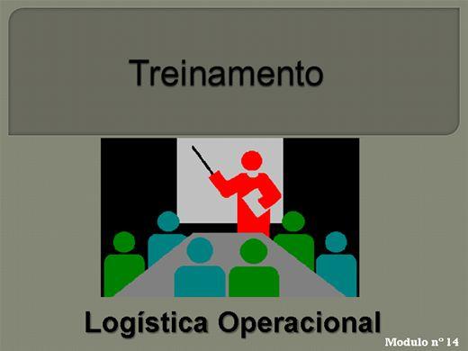 Curso Online de LOGÍSTICA OPERACIONAL MODULO Nº  14