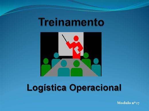 Curso Online de LOGÍSTICA OPERACIONAL MODULO Nº  17